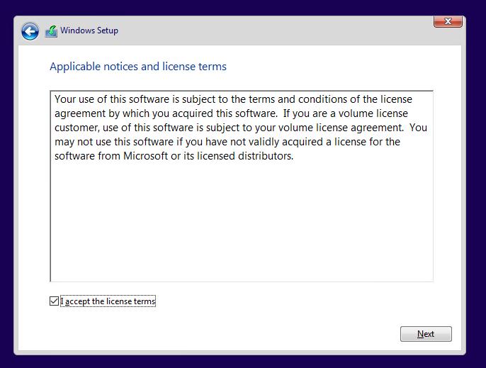 InstallWindows5
