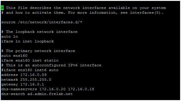 Configure Ubuntu Server OS-01