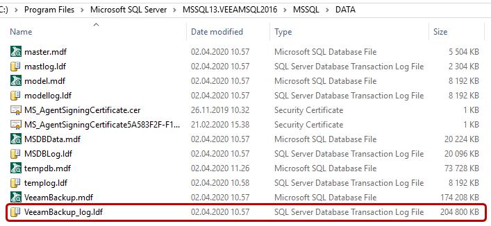Unable to truncate Microsoft SQL Server transaction logs-02